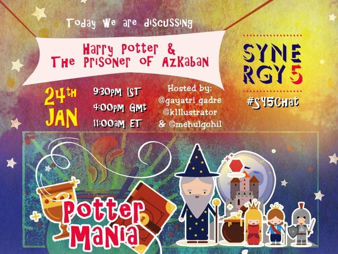 Harry Potter chat #Sy5chat