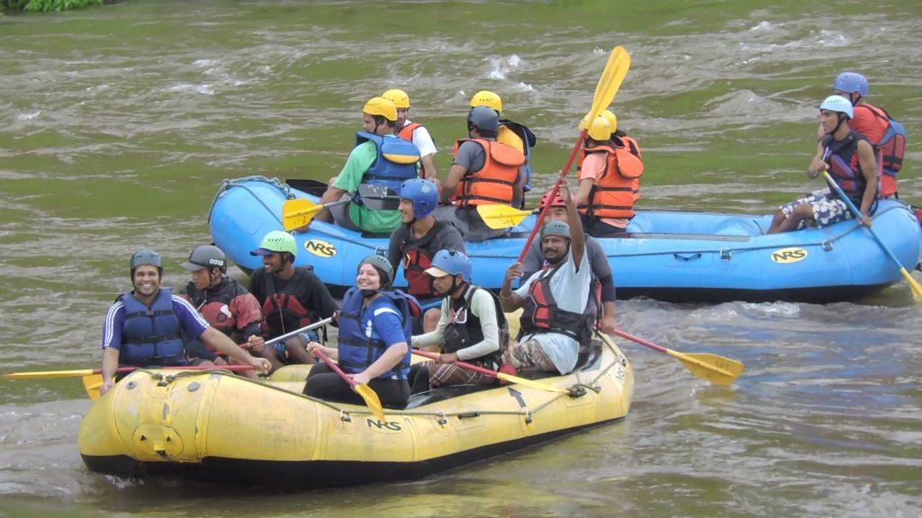Kundalika river rafting, Kolad